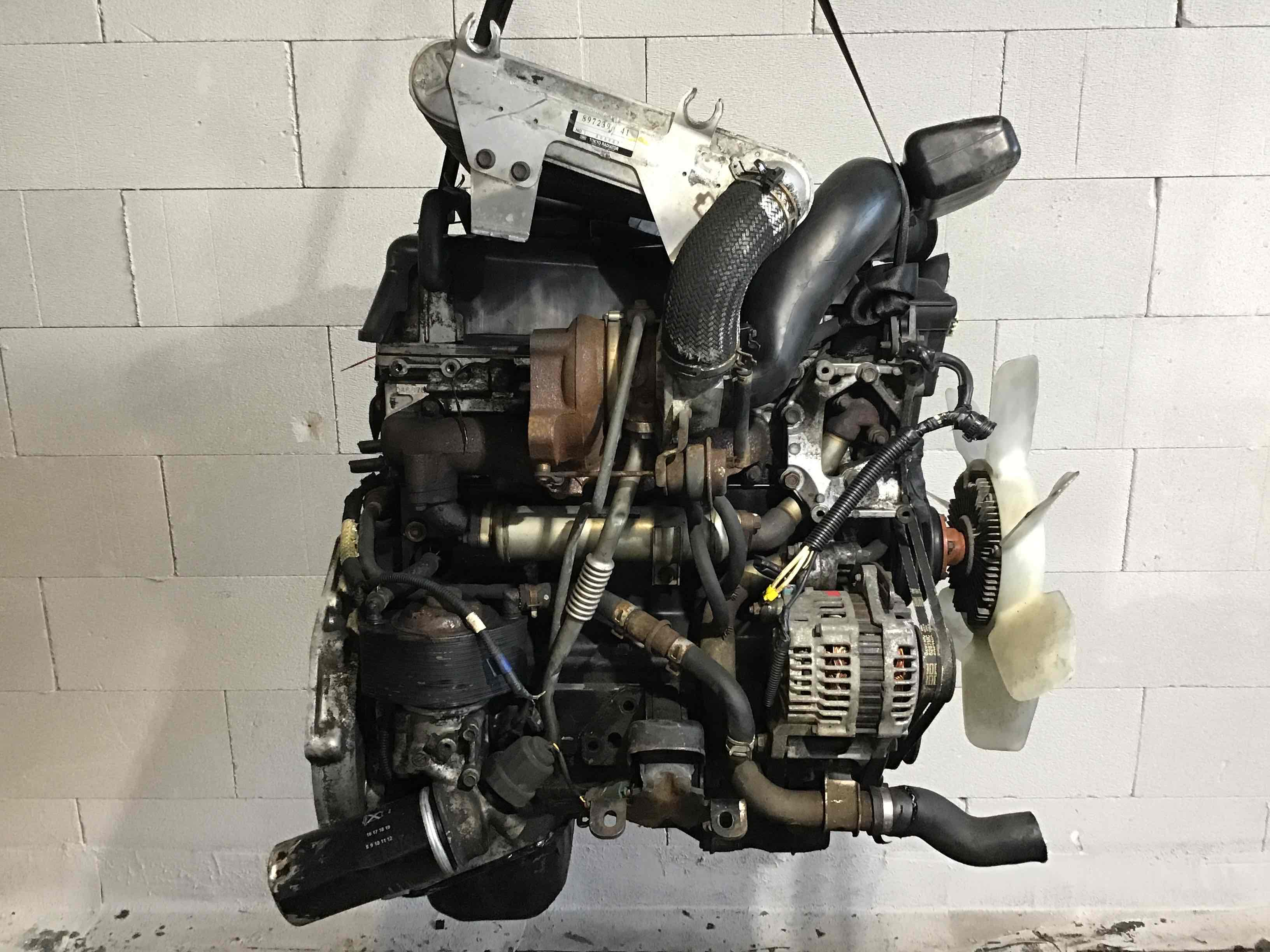 Фото 'Isuzu Trooper Двигатель 4Jx1 '