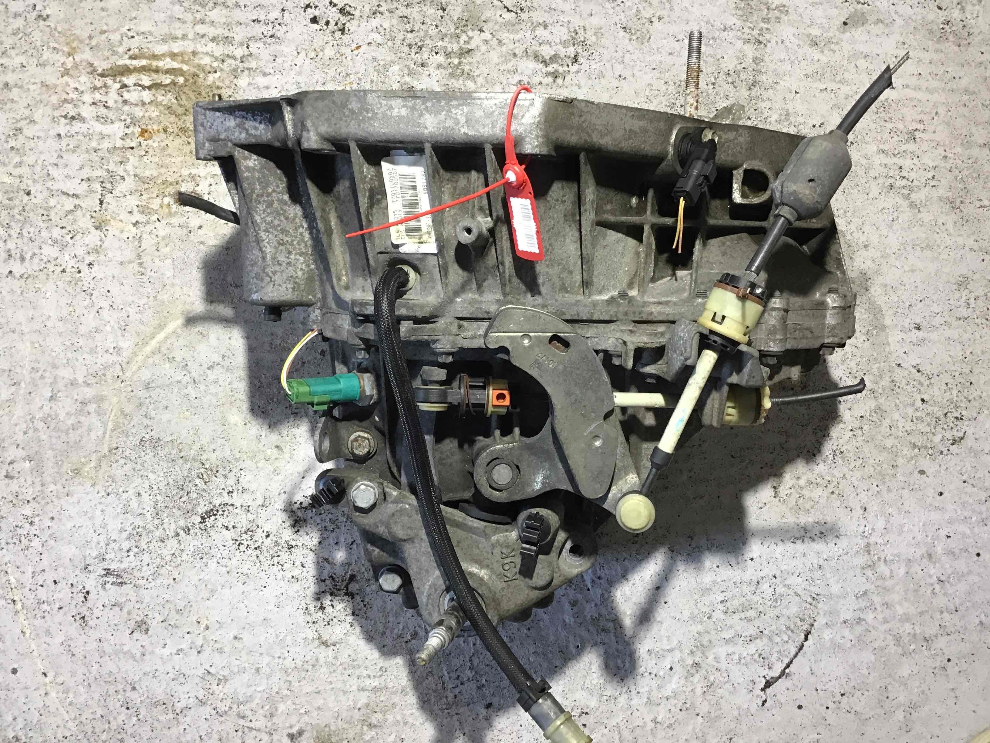 Фото 'Renault Scenic КПП механическая (МКПП) tl4a015; 7701477431 '